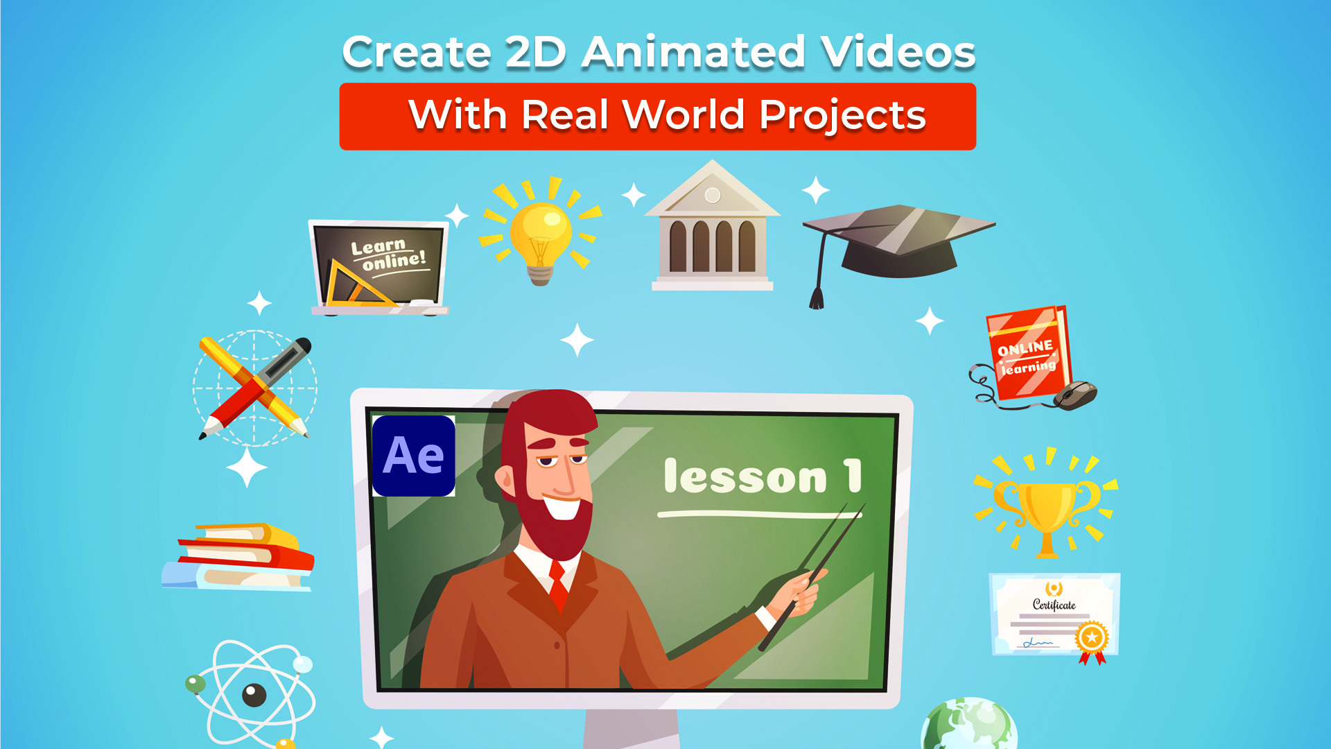 2d animated explainer course